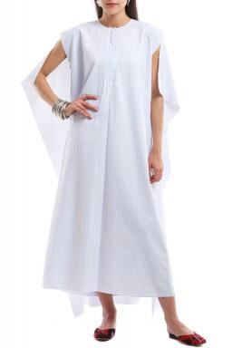 فستان رداء كتفي مربع