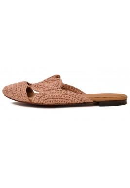 حذاء حلا نود فلات بحياكة يدوية
