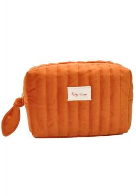 حقيبة مكياج بيت رملة - برتقالي دلتا