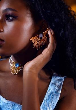 Corail D'or Earrings