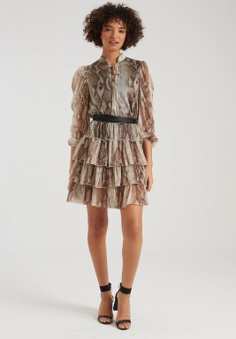 Hailey Ruffled Dress