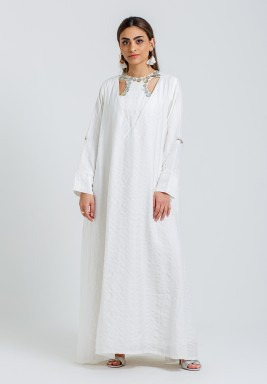 The Shell Buttons Kaftan