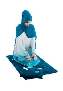 Saba Blue  prayer Set
