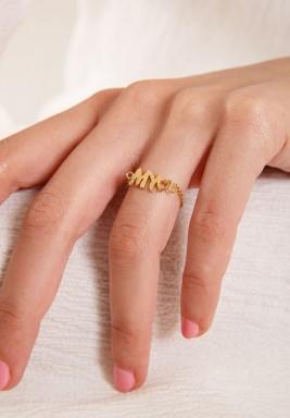 """خاتم من الذهب بكتابة """" My"""