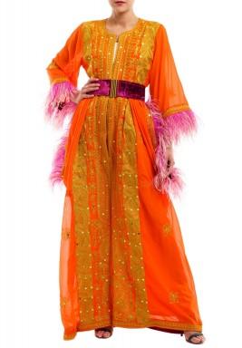 جمبسوت ثوب برتقالي