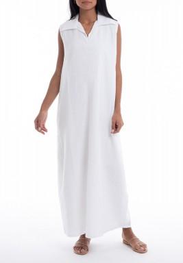 White summery dress