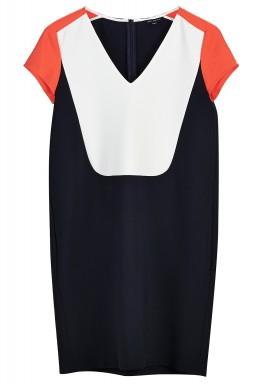 فستان متعدد الألوان