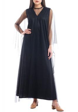 ثوب بيبي الأسود