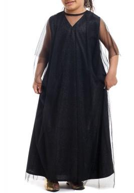 ثوب بيبي الأسود للأطفال