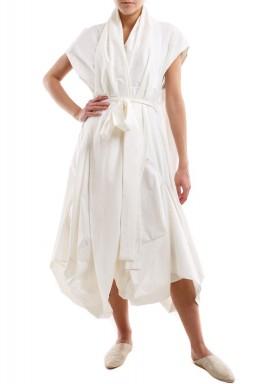 فستان قميص ملتف – سمني