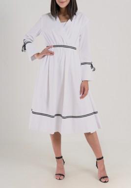 فستان ربطات الفيونكة