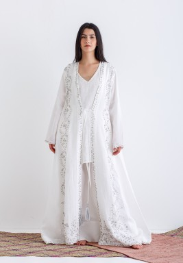 Delicately Embellished Abaya