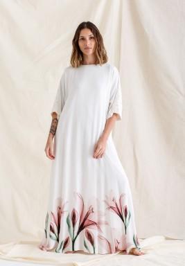Printed Rayon Dress / Lilly Pinko