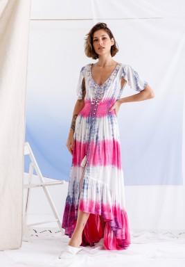Pink Shells Dye Dress