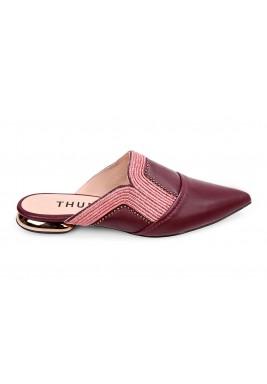 حذاء ثرية الجلد الماروني