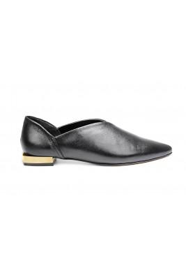 حذاء جود 1 الجلد باللون الأسود