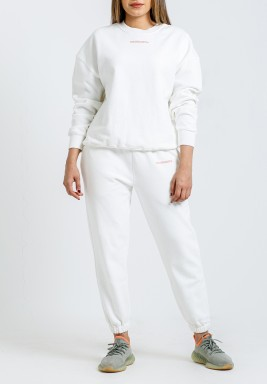 VI White Sweatpants